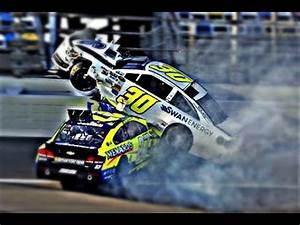 Top 10 NASCAR Crashes | FunnyDog.TV