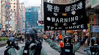 Hong Kong Could Enter Recession After Protests Plummet Retail and Scare Tourists   Cursor