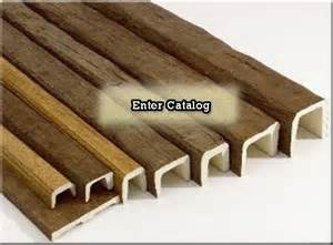 Styrofoam Wood Beams for Ceiling