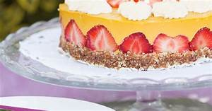 Torte Mit Erdbeeren : mango sahne torte mit erdbeeren vegan rezept eat smarter ~ Lizthompson.info Haus und Dekorationen