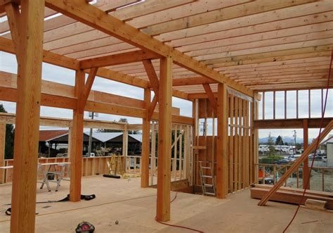 dahkero post  beam barn plans  pricing