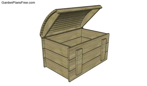 treasure chest plans  garden plans   build