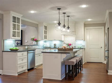 white kitchen with backsplash room from fixer 1842
