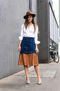5 Fresh Ways to Wear Denim Skirts u2013 Glam Radar