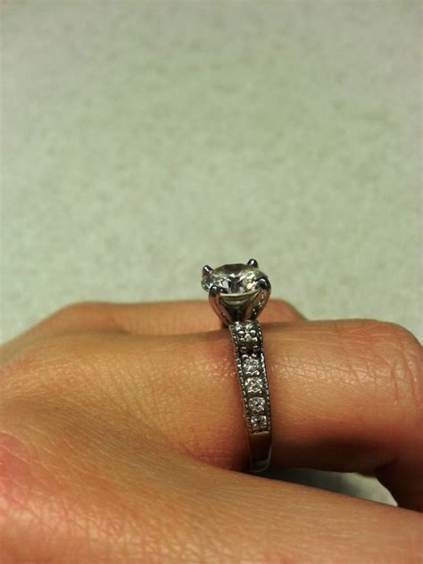 intricate style engagement ring weddingbee