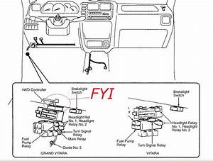 1999 Suzuki Esteem Fuse Box  Suzuki  Auto Fuse Box Diagram