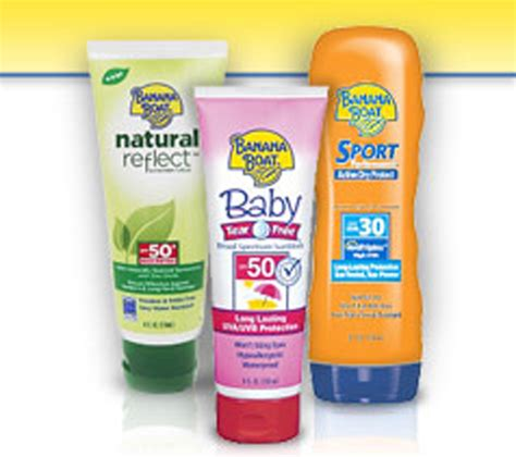 Banana Boat Sunscreen Good Or Bad by Sunscreen Hall Of Shame