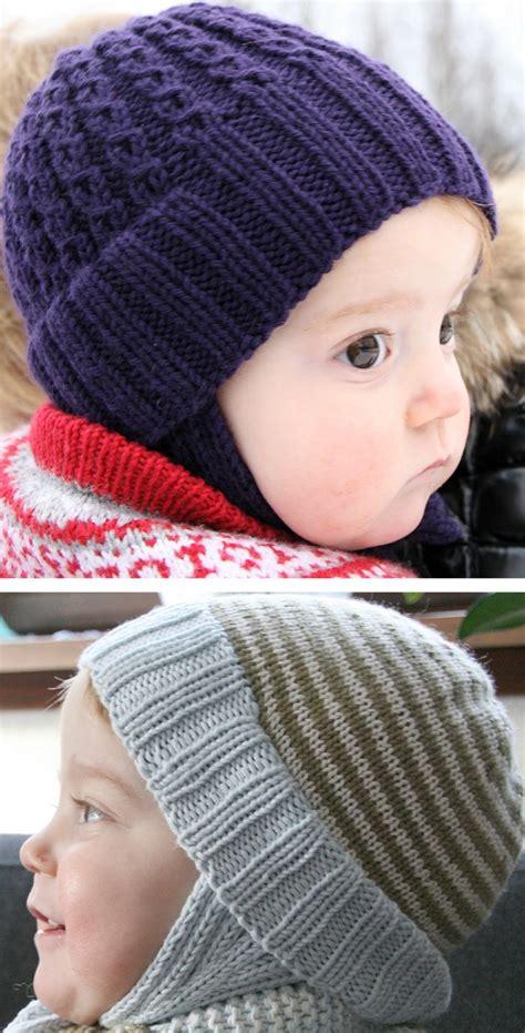 knitting pattern  double rib toddler hat baby