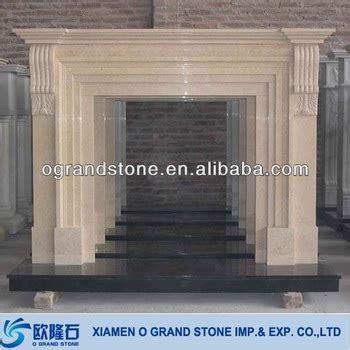 composite fireplace freestanding modern decorative composite artificial