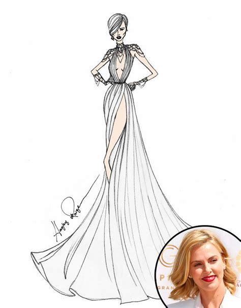 exclusive designers sketch wedding gowns  lady gaga