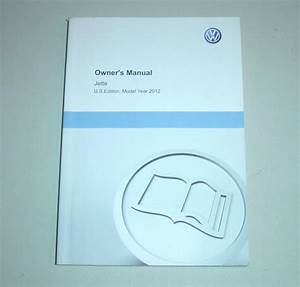 2012 Volkswagen Jetta Owners Manual Book Guide