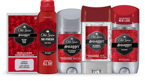 Amazon.com : Old Spice Red Zone Swagger Men's Body Spray 3