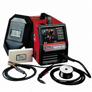 Lincoln Electric Welder  Flux-cored Wire Feed  Weld Pak 100 - Tools - Welding Equipment