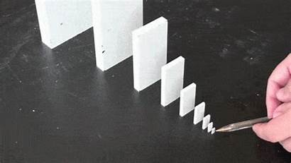 Domino Falling Reaction Chain Things Effect Dominoes