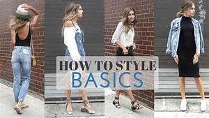 College Look Style : how to style basics summer basics look book youtube ~ Orissabook.com Haus und Dekorationen