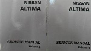 2008 Nissan Altima Service Repair Shop Manual Cd Version