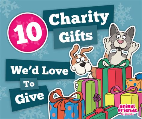 10 charity gifts we d love to give animal friends