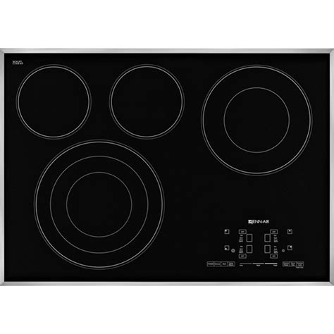 jenn air inch electric cooktop radiant touch glass controls electronic jennair