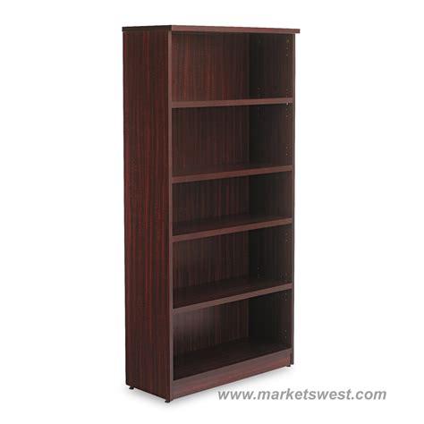 Alera Bookcase by Alera 5 Shelf Laminate Bookcase