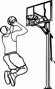 Playing Basketball Clipart Black And White | www.pixshark ...