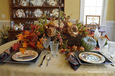 A Fall Tablescape…pottery Barn Inspired