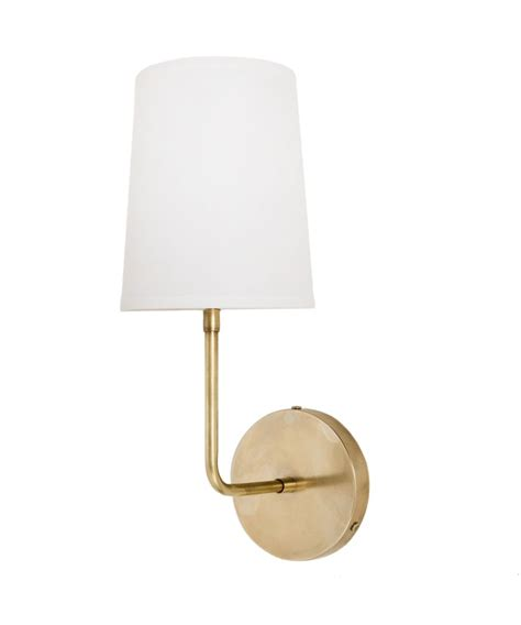 buy the simple lines light wall sconce with shade lights