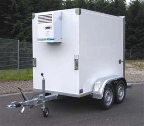 remorque chambre froide equipement et matériel frigorifique production froid