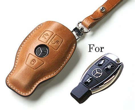 Handmade Premium Italy Leather Smart Remote Car Key Case