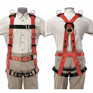 Klein 87090 Safety Harness For Tower Work  Size