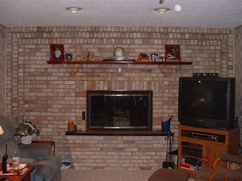 How Do I Hide My Tv Wires Overaround Brick Fireplace