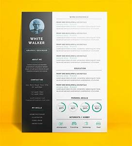 20 free cv resume templates 2017 freebies graphic With free creative resume template doc