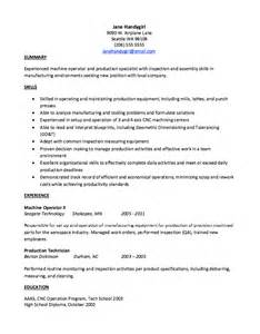 production technician resume format pin acting resume template doc on