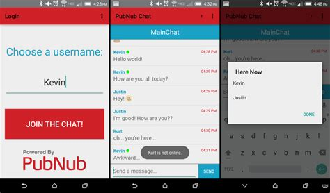 how to make an android app how to build an android chat application pubnub