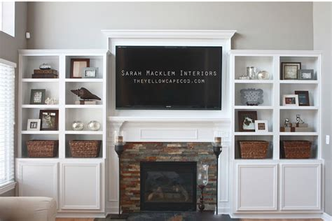 inspired home interiors hanging your tv the fireplace yea or nay driven