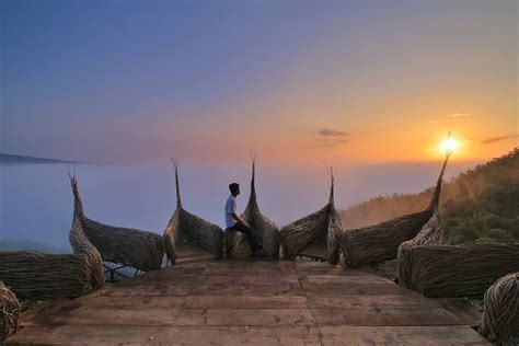 watu payung gunung kidul spot wisata terbaru jogja