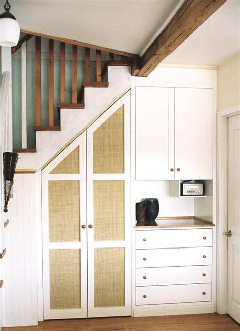 stair closet cabinet dominik  custom woodwork