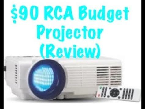 rca home theater projector review youtube