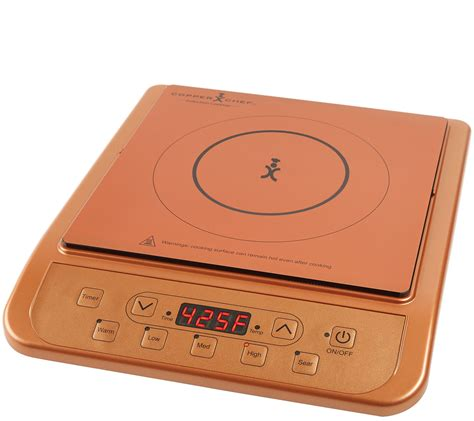 copper chef portable induction burner page  qvccom