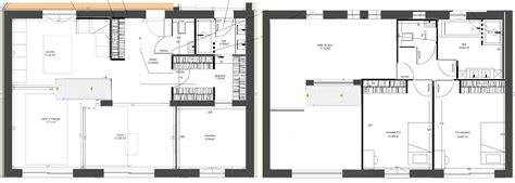 plan cuisine ouverte sur salon besoin de conseils sur plan duune maison compacte de m