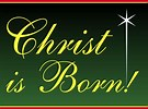 Image result for Christ is Born Clip Art