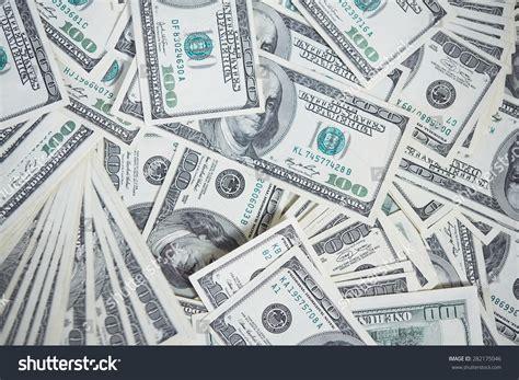 Money Chaotic Manner On Floor Stock Photo 282175046