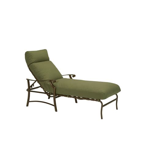 chaises discount tropitone 721332 montreux ii cushion chaise lounge