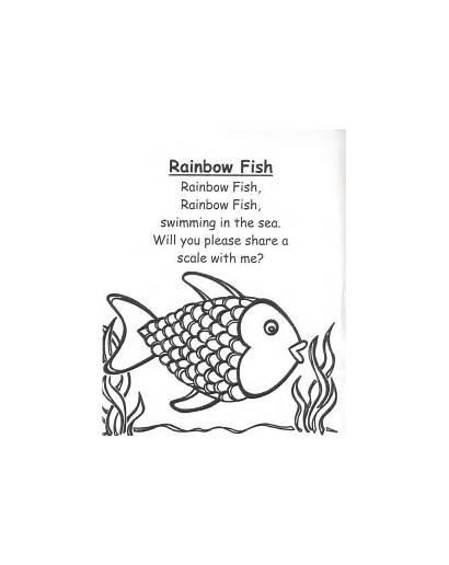 Poetry Poems Fish Short Rainbow Poem Children