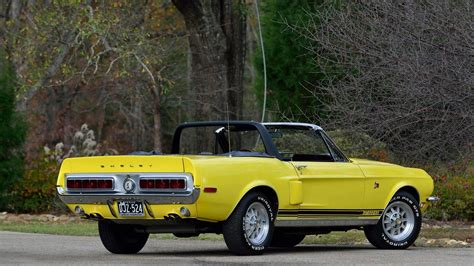 Mustang Gt 500kr by 1968 Ford Mustang Shelby Gt 500kr Convertible In Special