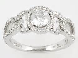 jtv engagement rings white gold jewellery jtv all white rings in gold