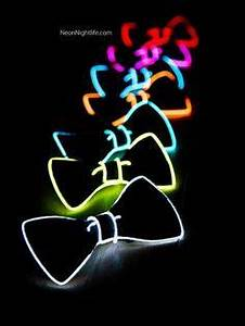 Light Up Bow Tie Neck Glow in the Dark Light Up by