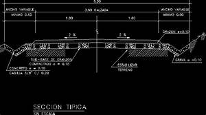 Section Of Road DWG Section for AutoCAD • Designs CAD