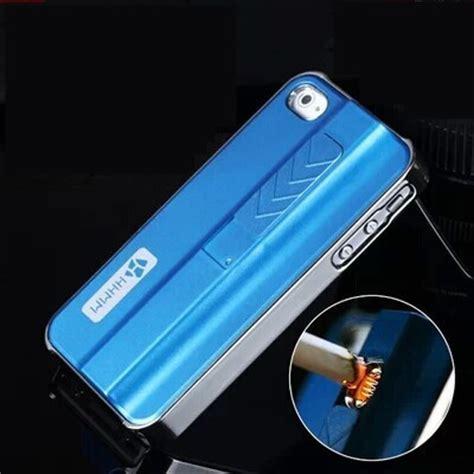 iphone lighter metal phone lighting style rechargeable zippo