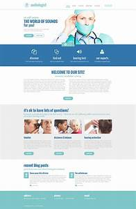 Medical Responsive Website Template  48664