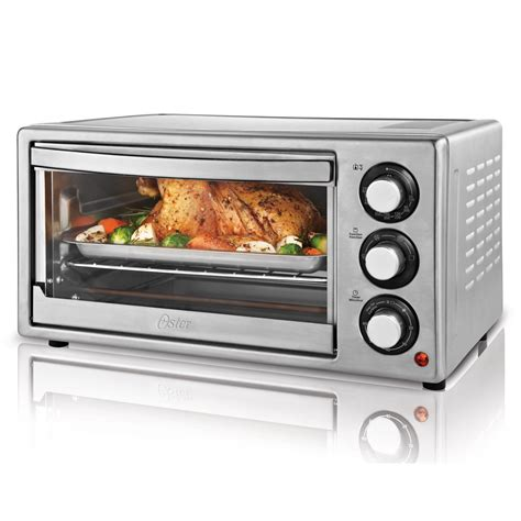 Oster Stainless Steel Convection Countertop Oven by Oster 174 6 Slice Convection Countertop Oven Stainless Steel